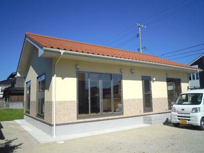 島根県江津市の新築施工例 浜松建設