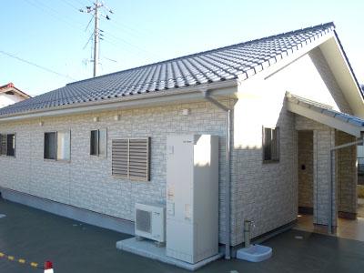 島根県浜田市の新築施工例 浜松建設株式会社