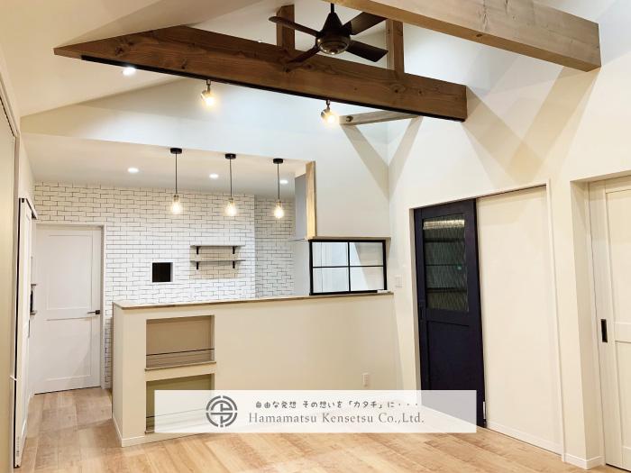 島根県江津市 浜松建設株式会社の自由設計の家づくりの画像