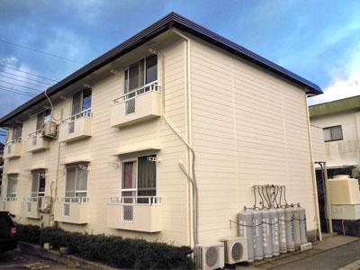 島根県江津市 アパート外壁塗装 屋根塗装