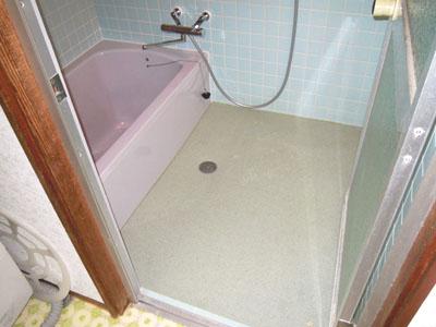 島根県 浴槽入れ替え 床をバスナフローレ バスナアルティに 浜松建設